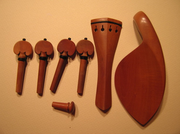 VIOLIN Accessory Set,Good Quality Boxwood, GREAT VALUE