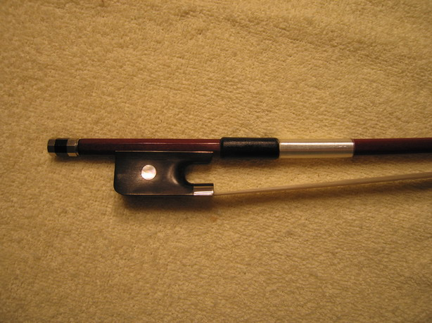 CELLO BOW,Brazilwood.Good Quality, 1/2