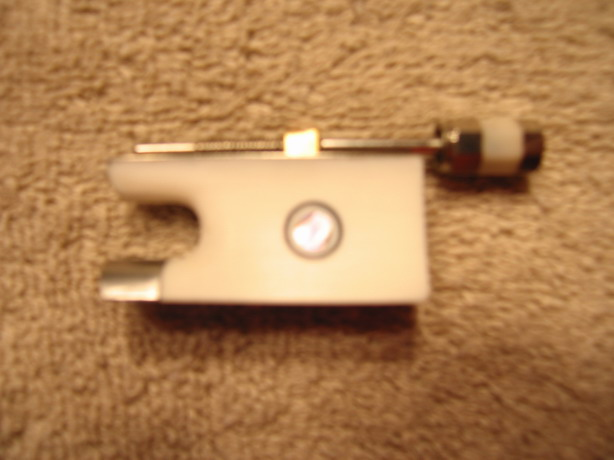 Ivory Like VIOLIN BOW part FROG 4/4